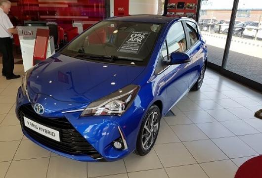 New MY17 Yaris at SLM Toyota Uckfield